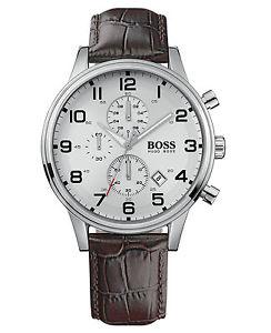 【送料無料】腕時計 ウォッチ ブランドヒューゴボスnuevo reloj para hombres aeroliner hugo boss 1512447 2 aos de garanta