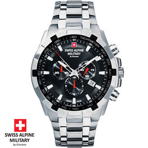 【送料無料】腕時計 ウォッチ スイスアルプスクロノナイツswiss alpine military by grovana 70439137 chro reloj pulsera caballeros nuevo