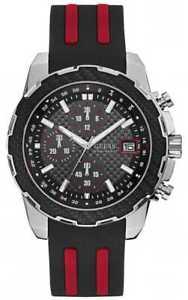 【送料無料】腕時計 ウォッチ アラームクロノグラフオクタンベルトマンguess reloj crongrafo de octano para hombre correa w1047g1 relojes 22