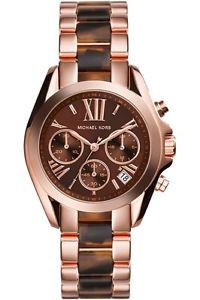 【送料無料】腕時計 ウォッチ クロックピンクゴールドブラウンoriginal michael kors reloj mujer mk5944 bradshaw color oro rosadomarrn nuevo