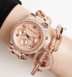 【送料無料】腕時計 ウォッチ ツイストピンクゴールドoriginal michael kors reloj mujer mk3247 runway twist color rosa dorado nuevo