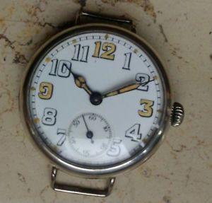 【送料無料】腕時計 ウォッチ カサウォッチアルジェントnuevo anuncio1915 military trench watch cassa argento trincea