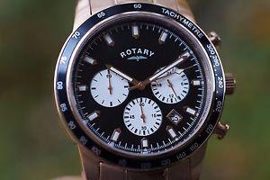 腕時計 ウォッチ ロータリーアラームマニュアルクロノグラフスイスクリスマスrotary gb0035504 reloj hombre crongrafo regalo de navidad swiss made