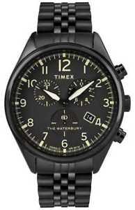 【送料無料】腕時計 ウォッチ アラームクロノグラフウォーターベリーtimex reloj crongrafo tradicional waterbury tw2r88600d7pf relojes 11