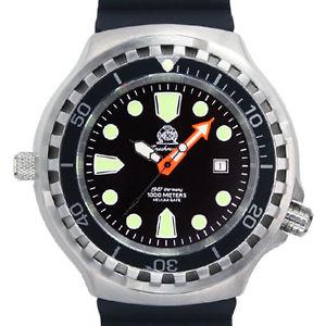 【送料無料】腕時計 ウォッチ ヘリウムセーフサファイアクリスタルxl52mm automtico berufstaucher 100atm heliosafezafirocristal t0285