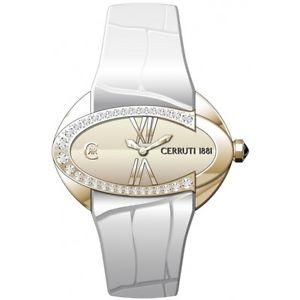 【送料無料】腕時計 ウォッチ ビアンコorologi cerruti cro016r donna bianco