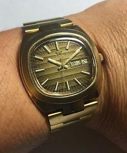 【送料無料】腕時計 ウォッチ ミリスイスクオーツブラウンゴールデントーンnos 600ms waltham hecho en suiza cuarzo tono dorado reloj esfera marrn