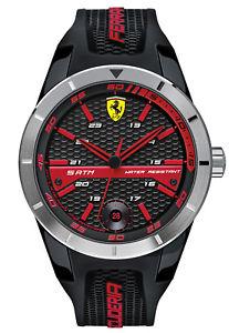 【送料無料】腕時計 ウォッチ スクーデリアフェラーリレッドリビジョンクロックscuderia ferrari red rev t reloj de hombre 0830253