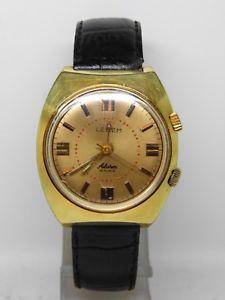 【送料無料】腕時計 ウォッチ ブレスレットアラームmontre bracelet lebem alarm vers 1970