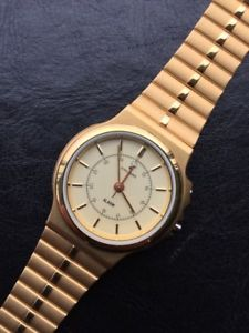 【送料無料】腕時計 ウォッチ デジタルクォーツnos junghans gold reloj watch vintage quartz digital no funciona