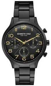 【送料無料】腕時計 ウォッチ ケネスアラームクロノグラフブラックウォッチkenneth cole reloj crongrafo negro pvd para kc15185001 relojes 11