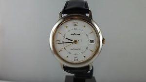 【送料無料】腕時計 ウォッチ ビンテージガラスf53 vintage prtina automatic fondo de cristal reloj pulsera hombre