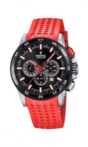 【送料無料】腕時計 ウォッチ レディースクロノバイクfestina seores reloj de pulsera f203538 chrono bike rojo