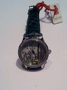 腕時計 ウォッチ グリーンorologio braccialini brd 430s bz verde con pesciolino