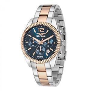腕時計 ウォッチ セクタークロノグラフアルジェントピンクゴールドorologio cronografo uomo sector 240 r3273676001 argento e oro rosa nuovi arrivi