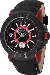 【送料無料】腕時計 ウォッチ スイスクオーツバッファローレザーsthurling genx 543 hombres 50mm cuarzo suizo bfalo reloj de pulsera cuero