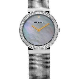 【送料無料】腕時計 ウォッチ ステンレススチールブレスレットクオーツベーリングbering para mujeres 25mm pulsera de acero inoxidable y estuche de cuarzo reloj con cuadrante frego