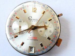 【送料無料】腕時計 ウォッチ クロノグラフムーブメント?landeron 187 date working manual chronograph movement cal w86