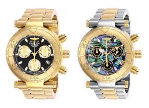 【送料無料】腕時計 ウォッチ スイスクオーツクロノグラフステンレススチールinvicta hombres subaqua cuarzo suizo crongrafo 200m reloj acero inoxidable