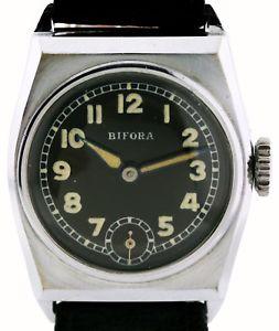 【送料無料】腕時計 ウォッチ ブランドレビューbifora estrenar reloj pulsera funcionan de los 30ern, frescos revisado
