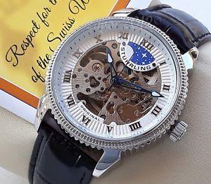 【送料無料】腕時計 ウォッチ アラームムーブメントstuhrling original special reserve reloj movimiento automtico de hombre nuevo