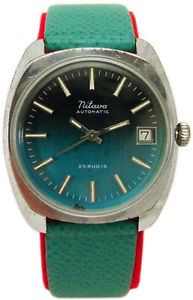 【送料無料】腕時計 ウォッチ クラシックグリーングリーンmitava reloj de hombre automtico plata verde fecha classic caballero green 25