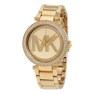 【送料無料】腕時計 ウォッチ パーカーゴールドnuevo 100 original michael kors mk5784 oro parker reloj de pulsera mujer