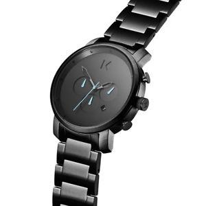 腕時計 ウォッチ クォーツクロノグラフmvmt orologio cronografo quarzo uomo con cinturino in acciaio inox dmc01gu