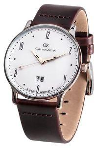 【送料無料】腕時計 ウォッチ カールフォンクロックcarl von zeytenlenzkirchcvz0019wh reloj hombre nuevo original