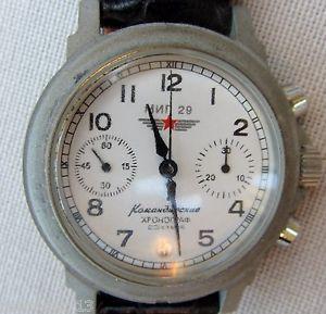 【送料無料】腕時計 ウォッチ ソクロノグラフcronografo sovietico russo poljot movimento 3133 perfettamente funzionante