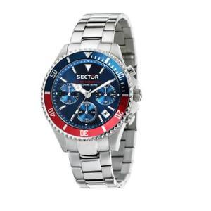 【送料無料】腕時計 ウォッチ セクタークロノグラフorologio cronografo uomo sector 230 r3273661008 acciaio crono nuova collezione