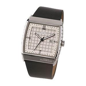 【送料無料】腕時計 ウォッチ ステンレスデザインernstes design reloj de pulsera para hombre pantalla fecha acero inox u017 bl