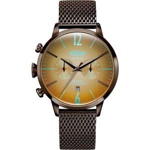 【送料無料】腕時計 ウォッチ ステンレススチールブレスレットアラームケースwelder breezy 36mm marrn de hombre de pulsera de acero inoxidable y estuche de cuarzo reloj wwrc 804