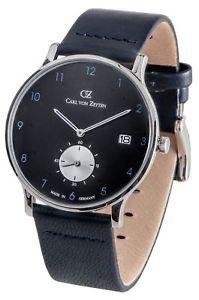 【送料無料】腕時計 ウォッチ カールフォンオリジナルクロックcarl von zeytenfurtwangencvz 0018 bkbl reloj hombre nuevo original