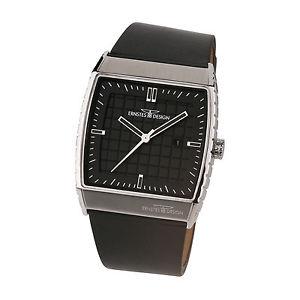 【送料無料】腕時計 ウォッチ ステンレスデザインernstes design reloj de pulsera para hombre pantalla fecha acero inox 016 bl