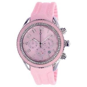 【送料無料】腕時計 ウォッチ シリコーンローザmaracuja crono orologio in silicone rosa , 3 sfere e strass t10c010rs