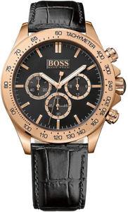 【送料無料】腕時計 ウォッチ ヒューゴボスマンピンクゴールドクロックnuevo hugo boss hb 1513179 hombre oro rosado ikon reloj 2 aos de garanta