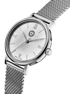 【送料無料】腕時計 ウォッチ メルセデスベンツレディレディブレスレットアラームクロッククラシックレディシルバーoriginal mercedes benz design seora reloj lady pulsera reloj classic lady silver