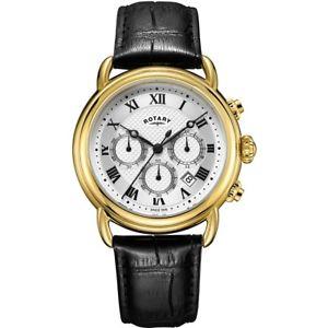 【送料無料】腕時計 ウォッチ ロータリーカンタベリークロノグラフウォッチrotary caballeros canterbury crongrafo reloj gs0533321