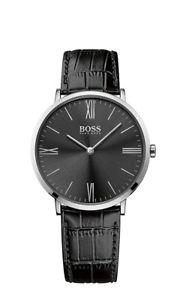 【送料無料】腕時計 ウォッチ ボスマンクロックブラックレザーboss reloj de hombre 1513369 anlogo cuero negro