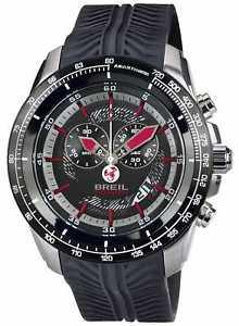 【送料無料】腕時計 ウォッチ ステンレススチールブラッククロノグラフウォッチbreil abarth acero inoxidable ip crongrafo negro y tw1488 relojes 10