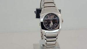 【送料無料】腕時計 ウォッチ ネロテンポリリースorologio pryngeps a651 nero acciaio solo tempo data quarzo 5atm watch steel