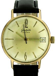 【送料無料】腕時計 ウォッチ ビンテージハウgub vidriera kal 691 vintage hau goldplaque rda ostalgie