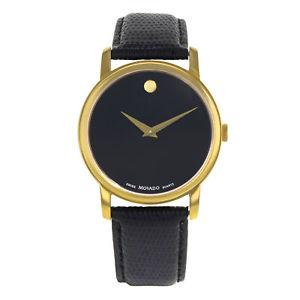 【送料無料】腕時計 ウォッチ ステンレスクォーツmovado museo color dorado acero inoxidable cuero cuarzo reloj de hombre 2100005