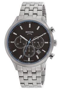 【送料無料】腕時計 ウォッチ タイタンナイツクリスタルサファイアクロノクロノグラフboccia titancaballeros reloj pulsera chronograph con cristal zafiro chrono 375004