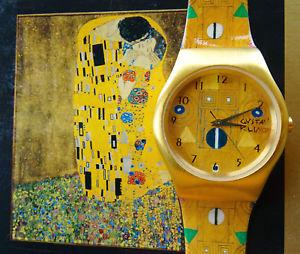 【送料無料】腕時計 ウォッチ ゴールドゴールドエディショングスタフクリムトウォッチ