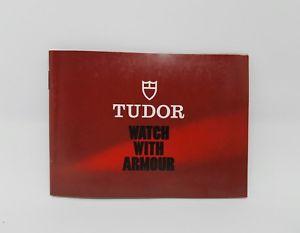 【送料無料】腕時計 ウォッチ チューダーブックレットbooklet tudor anno 1985 eng
