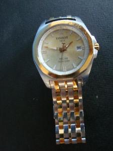【送料無料】腕時計 ウォッチ ティソrs0918262 tissot 1853 seores reloj pulsera prc100 quartz bicolor