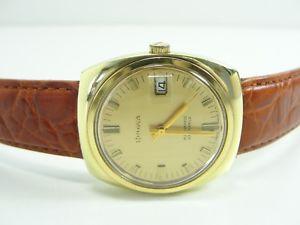 【送料無料】腕時計 ウォッチ アラームゴールデンビンテージbulova automatic reloj hombre kal 11 blacd dorado vintage men watch orologio