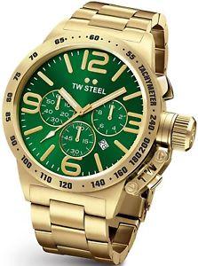 【送料無料】腕時計 ウォッチ スチールゴールドtw steel canteen reloj de oro cb224 para hombre de 50 mm 2 aos de garanta